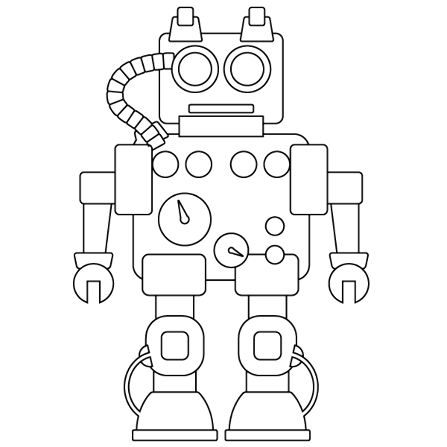 girl robot coloring pages robot girl 2 coloring page httpwwwkidscanhavefuncom pages robot girl coloring