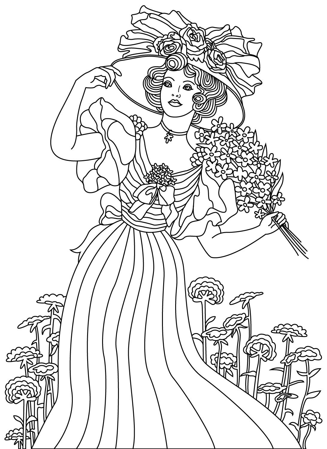 girl robot coloring pages steampunk helga by jollyjack steampunk coloring pages robot girl coloring