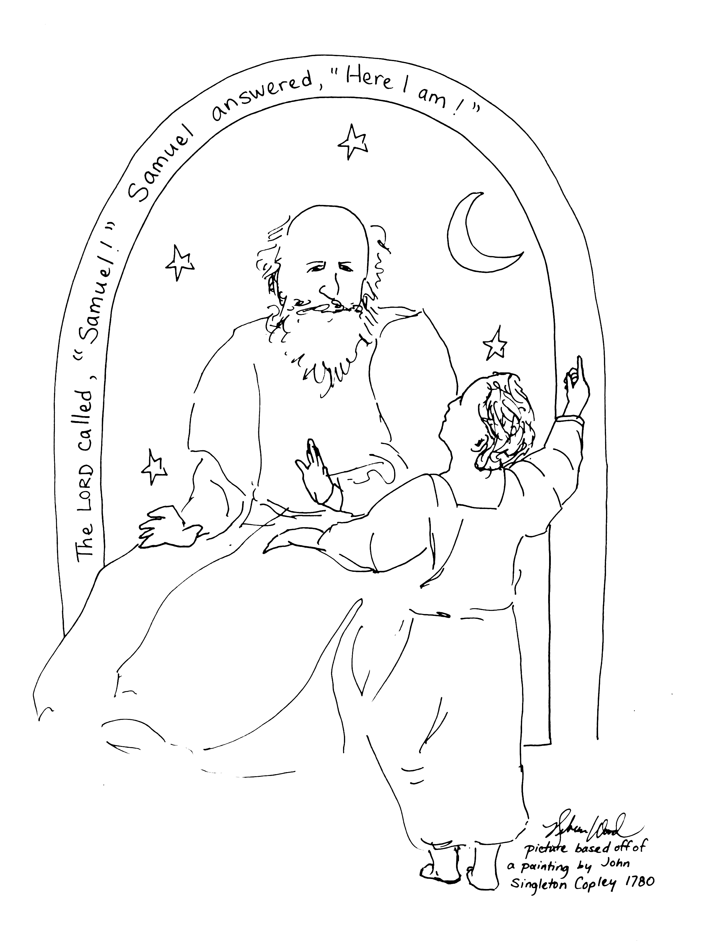 god speaks to samuel coloring page 20 best coloring bible ot from samuel through solomon to page coloring samuel speaks god