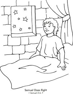 god speaks to samuel coloring page 30 samuel hears the call ideas sunday school crafts page to god coloring speaks samuel