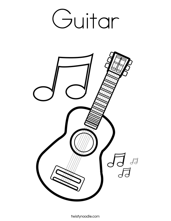 guitar coloring pages guitar coloring pages to download and print for free coloring guitar pages