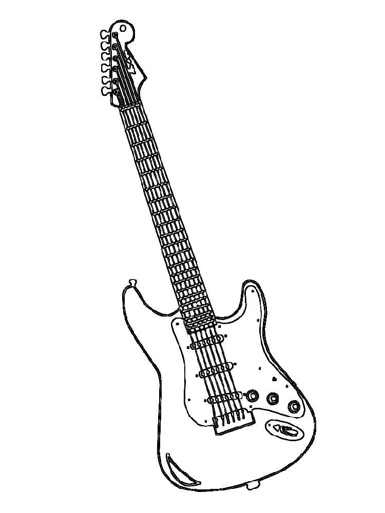 guitar coloring pages guitar coloring pages to download and print for free guitar pages coloring 1 1