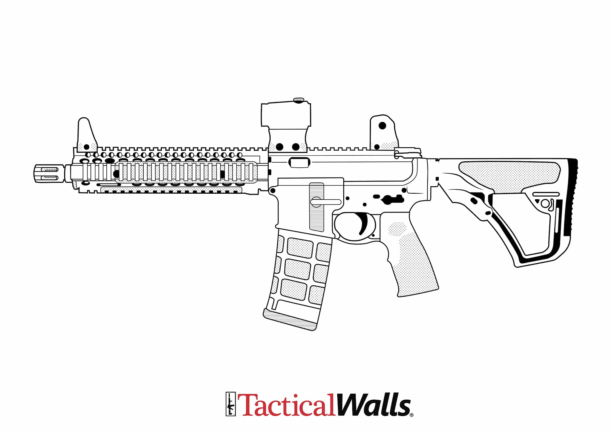 gun coloring pictures firearm coloring pages tactical walls gun coloring pictures