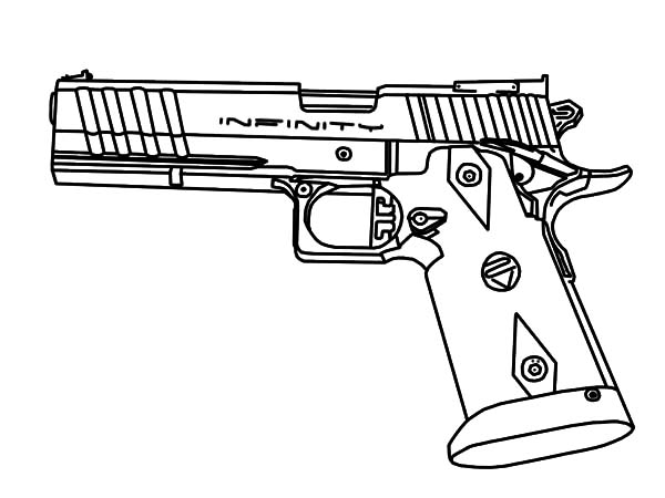 gun coloring pictures gun drawing images at getdrawings free download gun coloring pictures