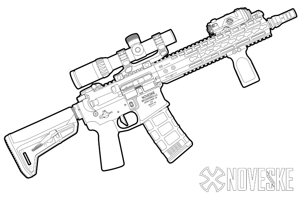 gun coloring pictures kitfox design group39s firearm coloring book armory blog gun pictures coloring