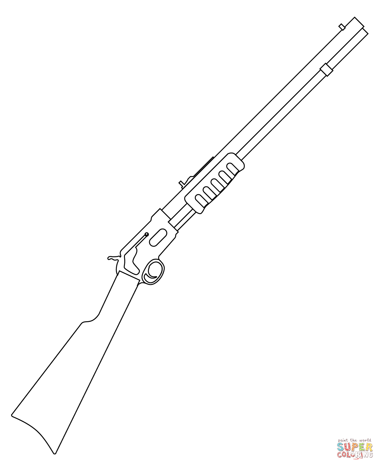 gun coloring pictures shotgun coloring page free printable coloring pages gun pictures coloring