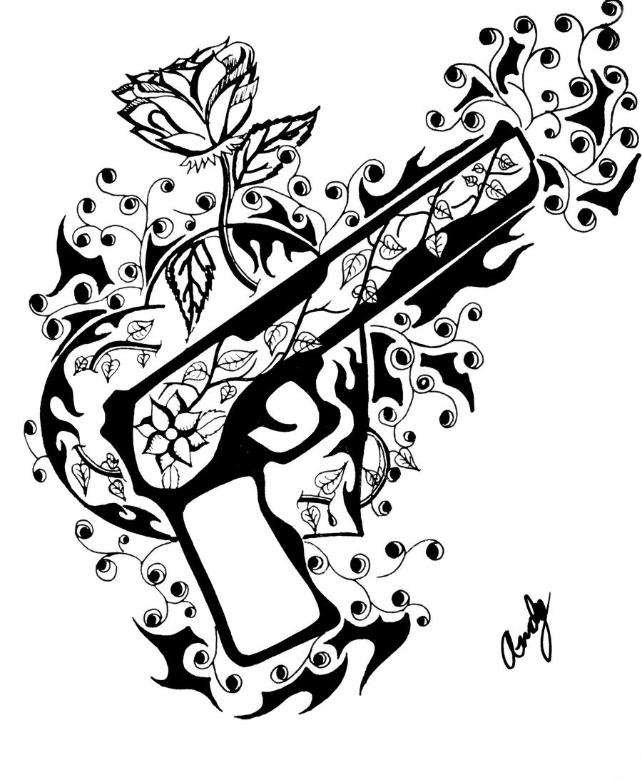 guns n roses coloring pages guns and roses by andy023 on deviantart guns pages roses coloring n
