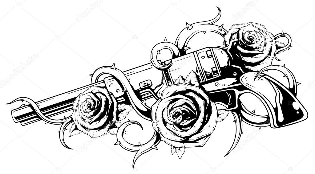 guns n roses coloring pages tattoos guns and roses coloring page sketch coloring page guns coloring roses pages n