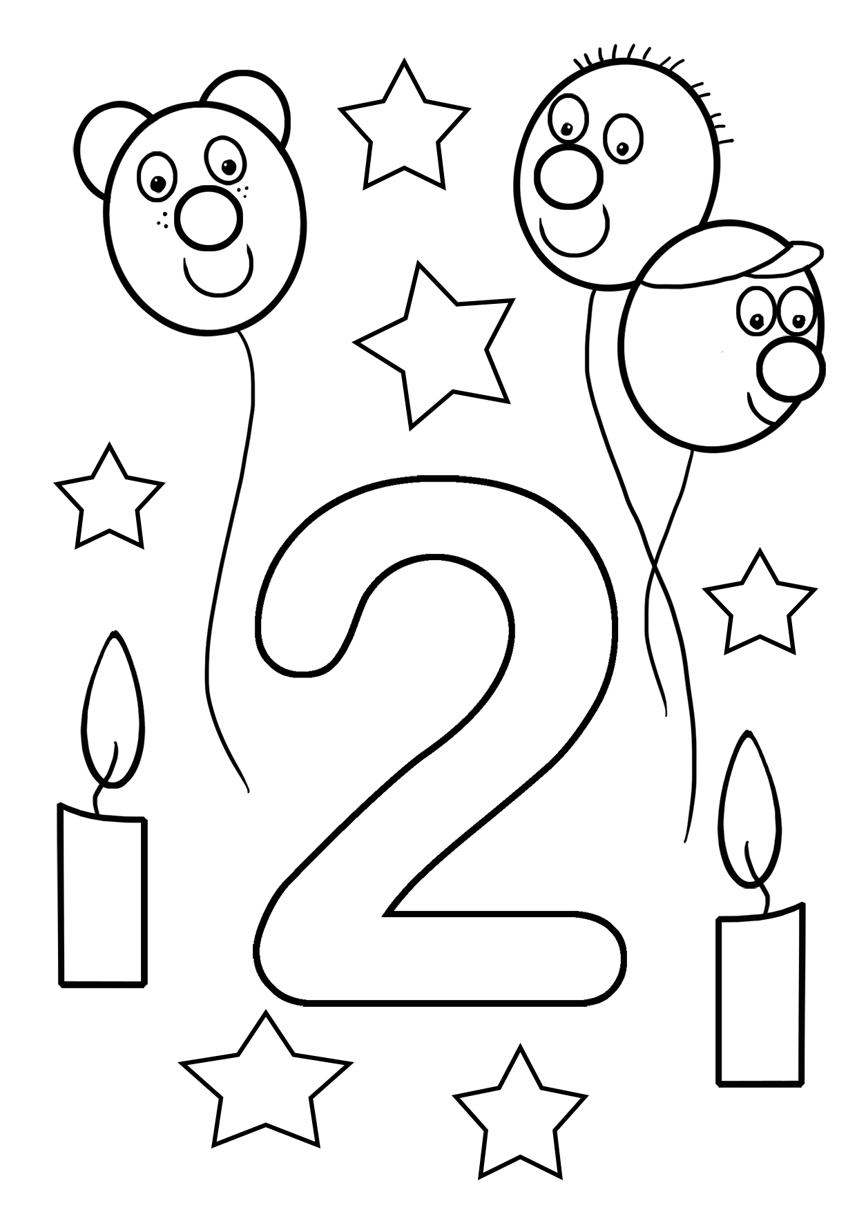 happy 2nd birthday coloring pages 2nd birthday cake coloring page for kids holiday coloring coloring happy birthday 2nd pages