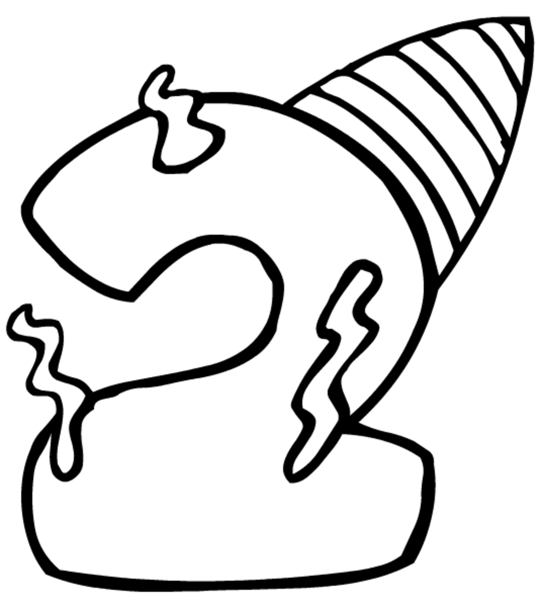 happy 2nd birthday coloring pages birthday coloring pages numbers happy pages birthday 2nd coloring