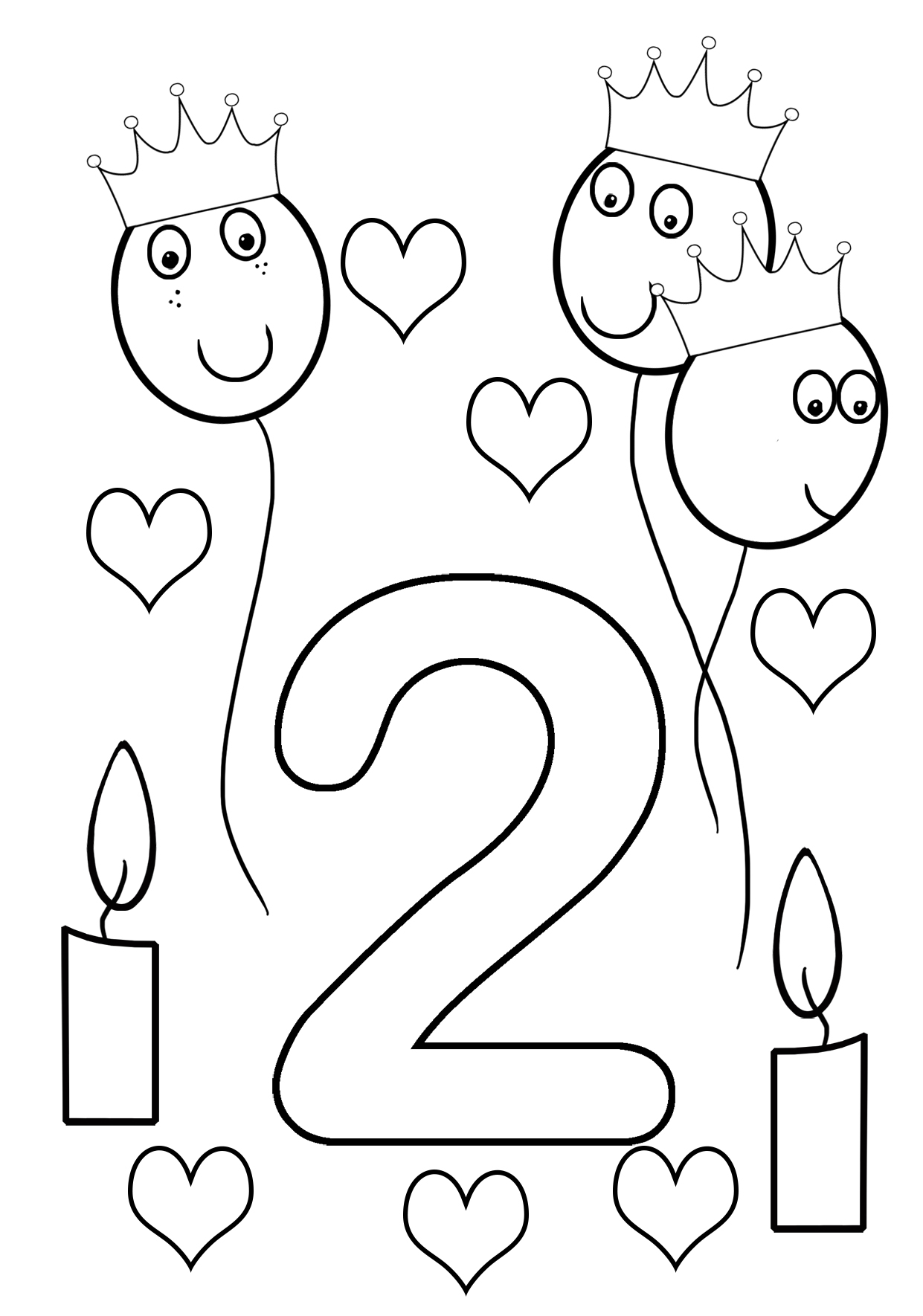 happy 2nd birthday coloring pages happy birthday cards drawing at getdrawings free download happy birthday coloring pages 2nd
