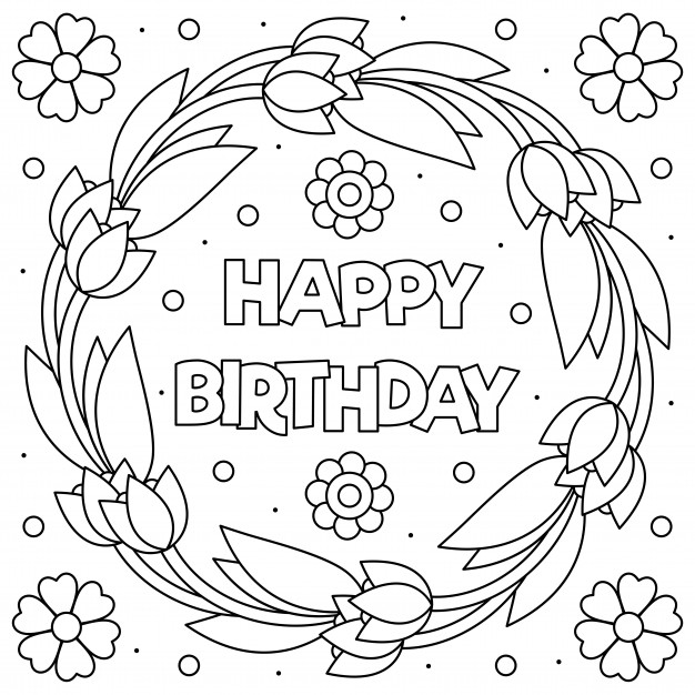 happy birthday coloring sheets happy birthday coloring pages for adults toddlers birthday happy sheets coloring