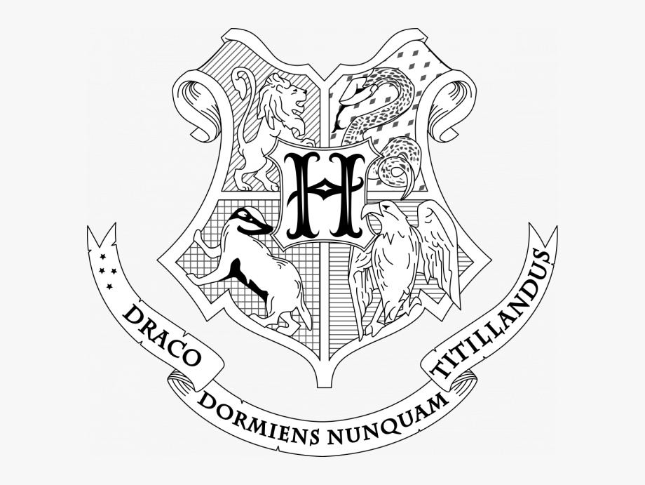 harry potter house coloring pages hogwarts houses coloring pages at getcoloringscom free house coloring pages harry potter