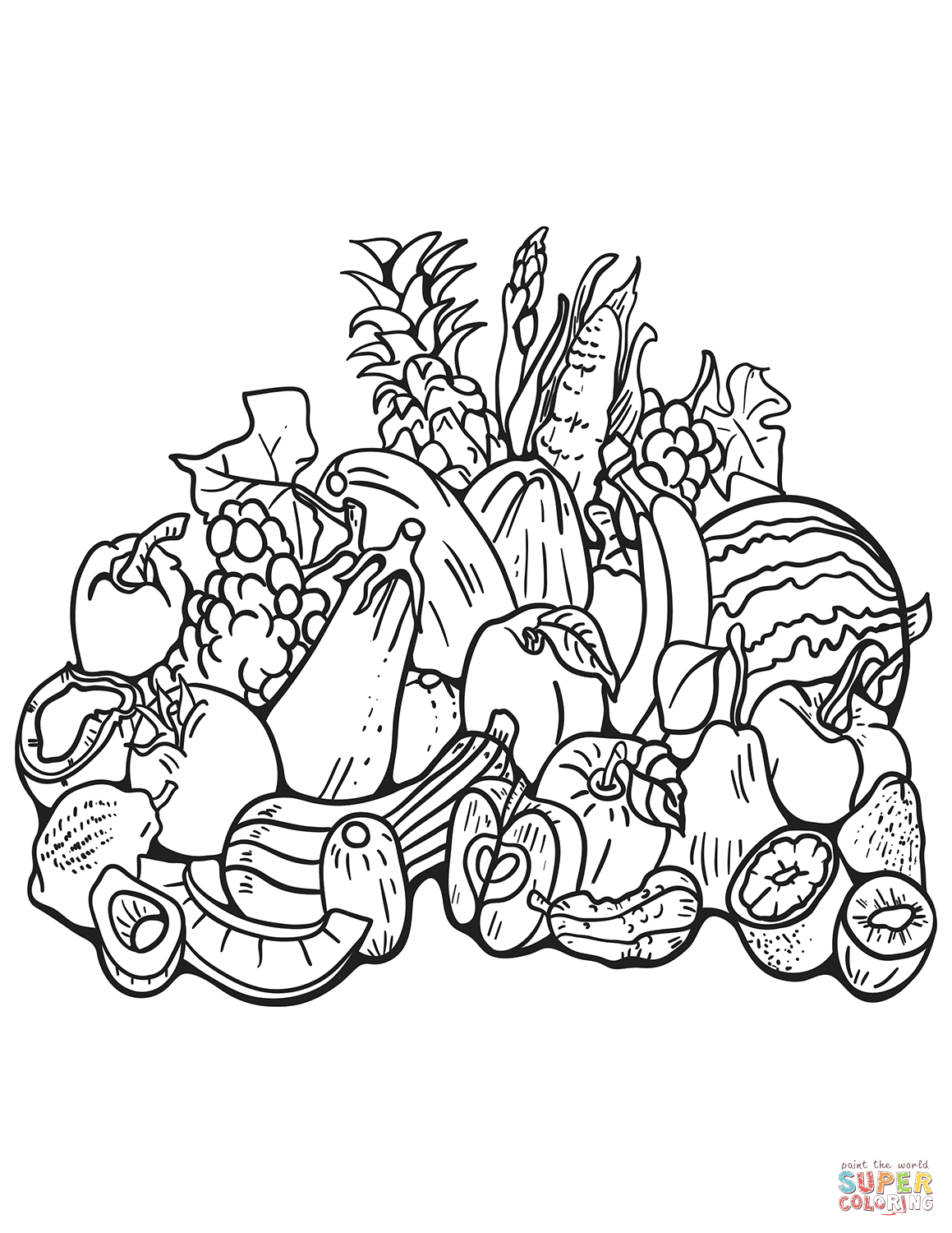 harvest coloring pages free printable fall harvest coloring pages free printable coloring harvest pages