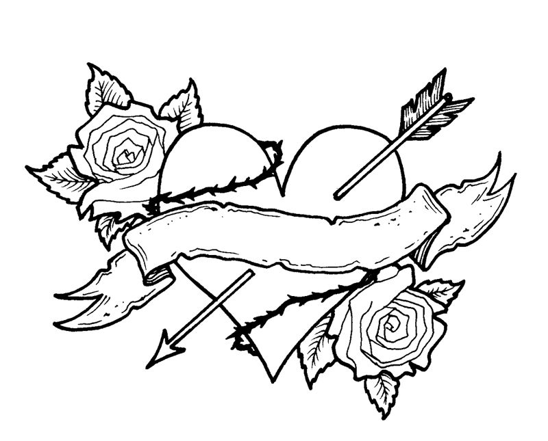 heart and roses coloring pages love it heart coloring pages skull coloring pages roses heart coloring and pages