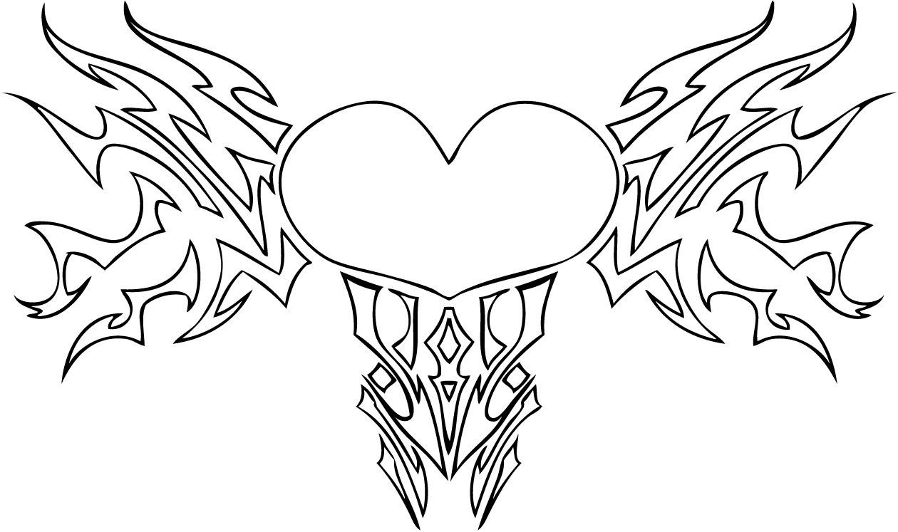 hearts to colour in easy heart coloring pages for kids stripe patterns colour in hearts to