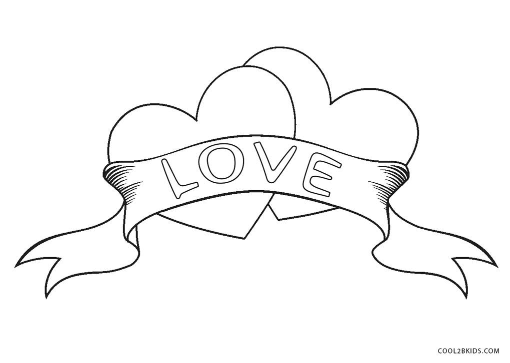 hearts to colour in free printable heart coloring pages for kids cool2bkids in hearts to colour