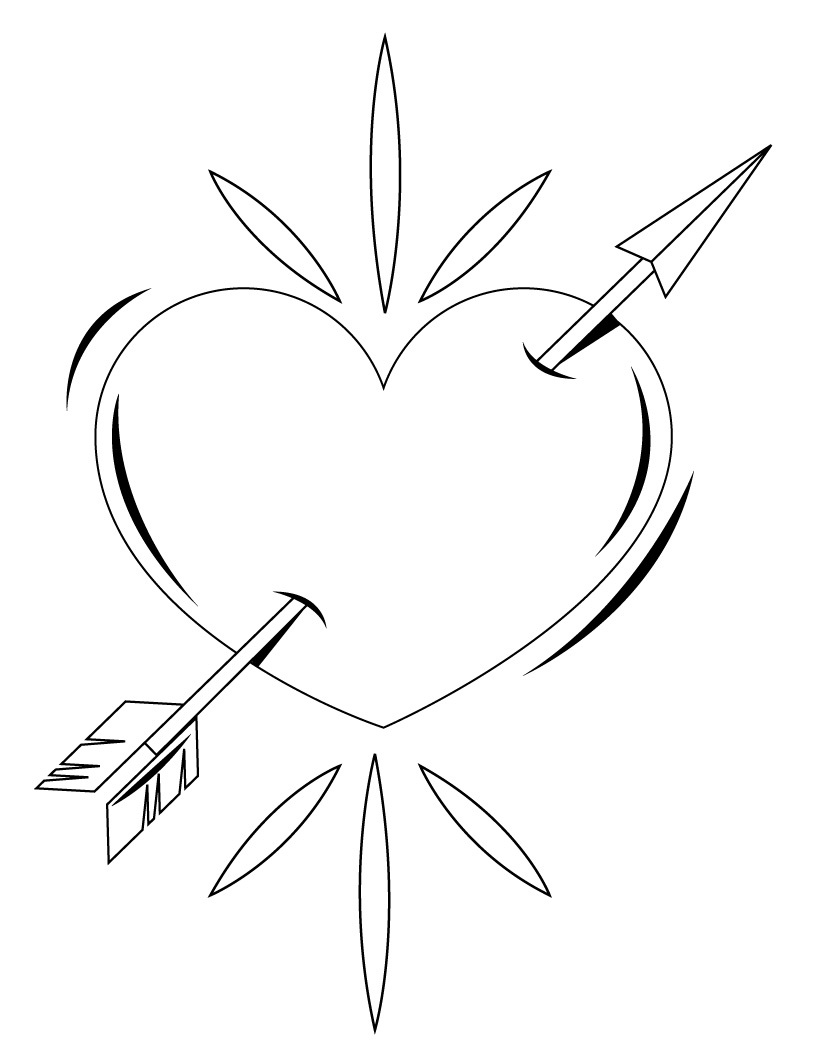 hearts to colour in free printable heart coloring pages for kids in colour to hearts