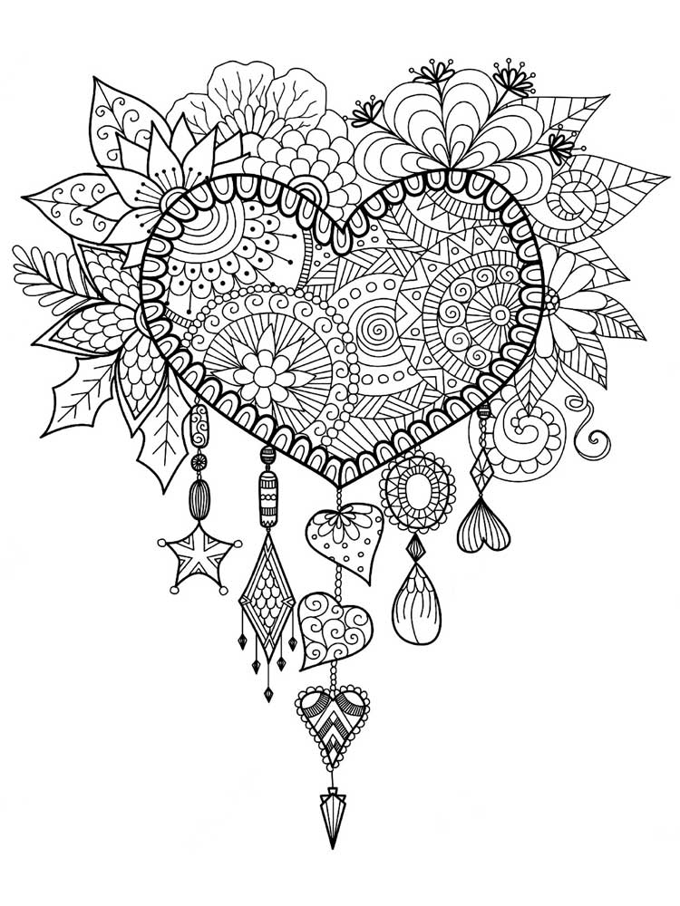 hearts to colour in hearts coloring pages getcoloringpagescom in colour hearts to