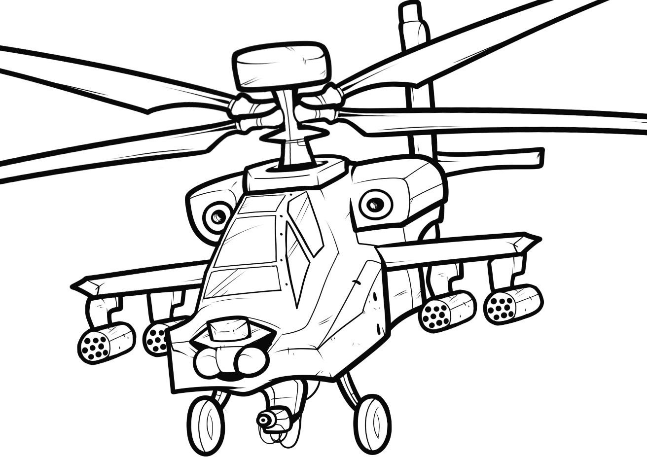 helicopter colouring pictures free printable helicopter coloring pages for kids helicopter pictures colouring 1 2