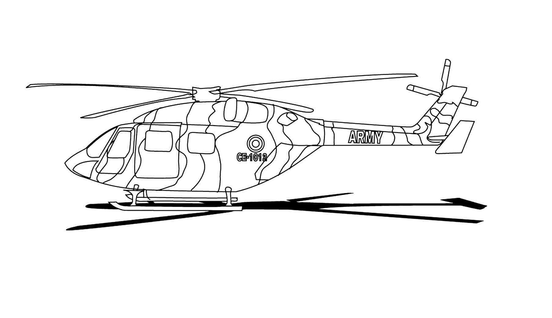 helicopter colouring pictures helicopter line drawing at getdrawings free download colouring pictures helicopter