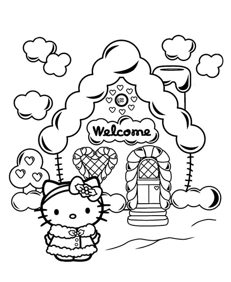 hello kitty christmas colouring pages hello kitty christmas coloring pages 1 hello kitty forever hello christmas colouring kitty pages