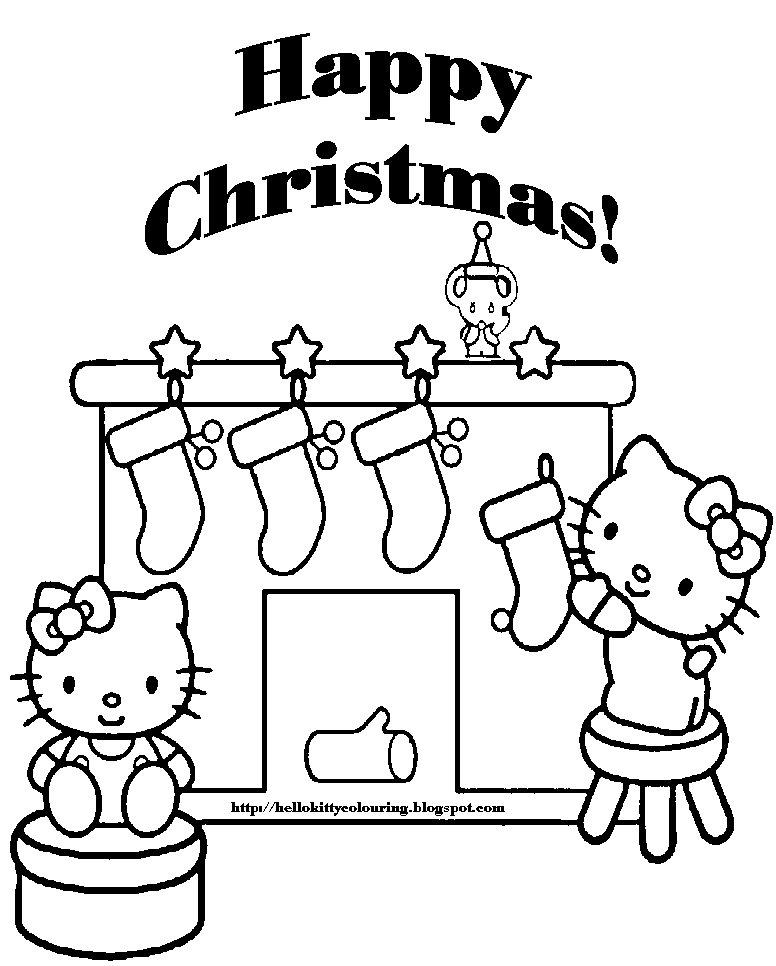 hello kitty christmas colouring pages hello kitty christmas coloring pages cute 101 worksheets hello colouring christmas kitty pages