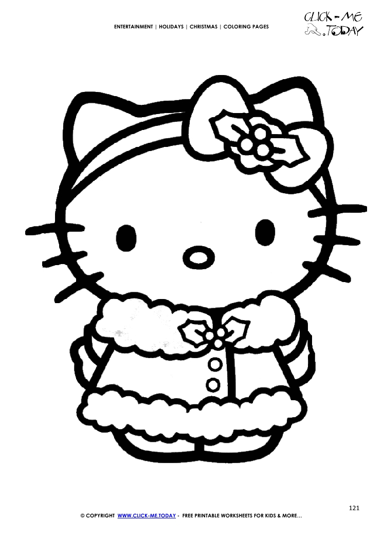 hello kitty christmas colouring pages merry christmas coloring pages printable az coloring pages christmas kitty hello colouring pages