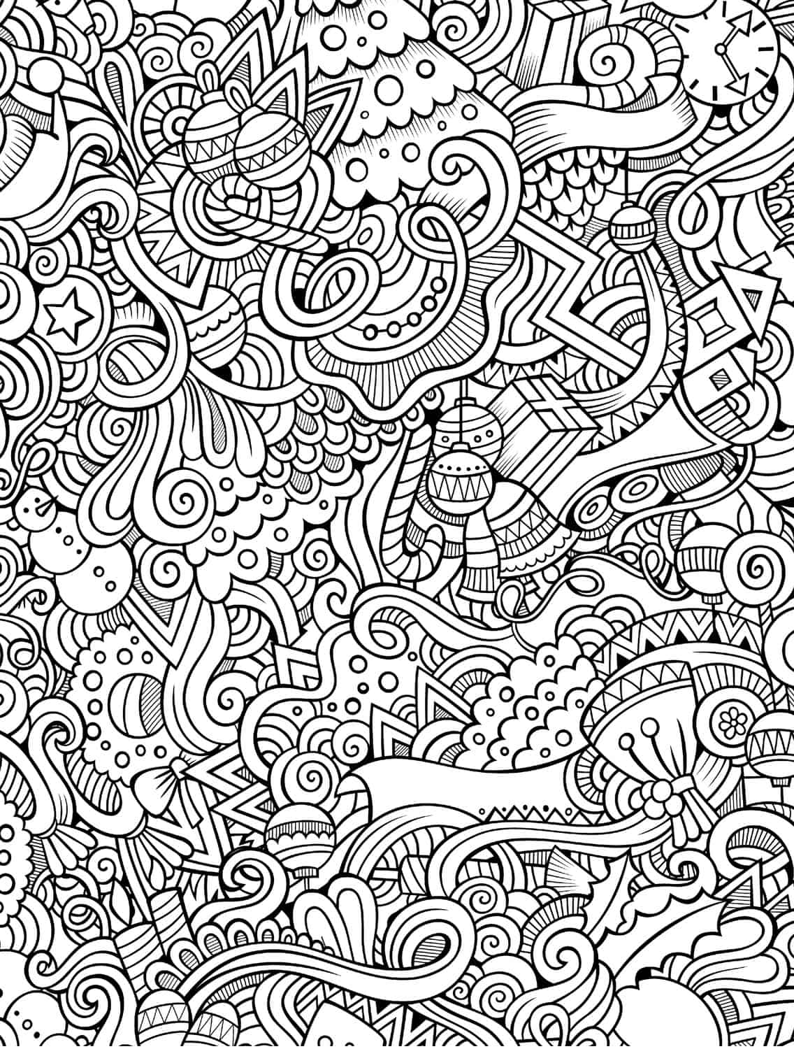 holiday coloring pages free 10 free printable holiday adult coloring pages coloring free pages holiday