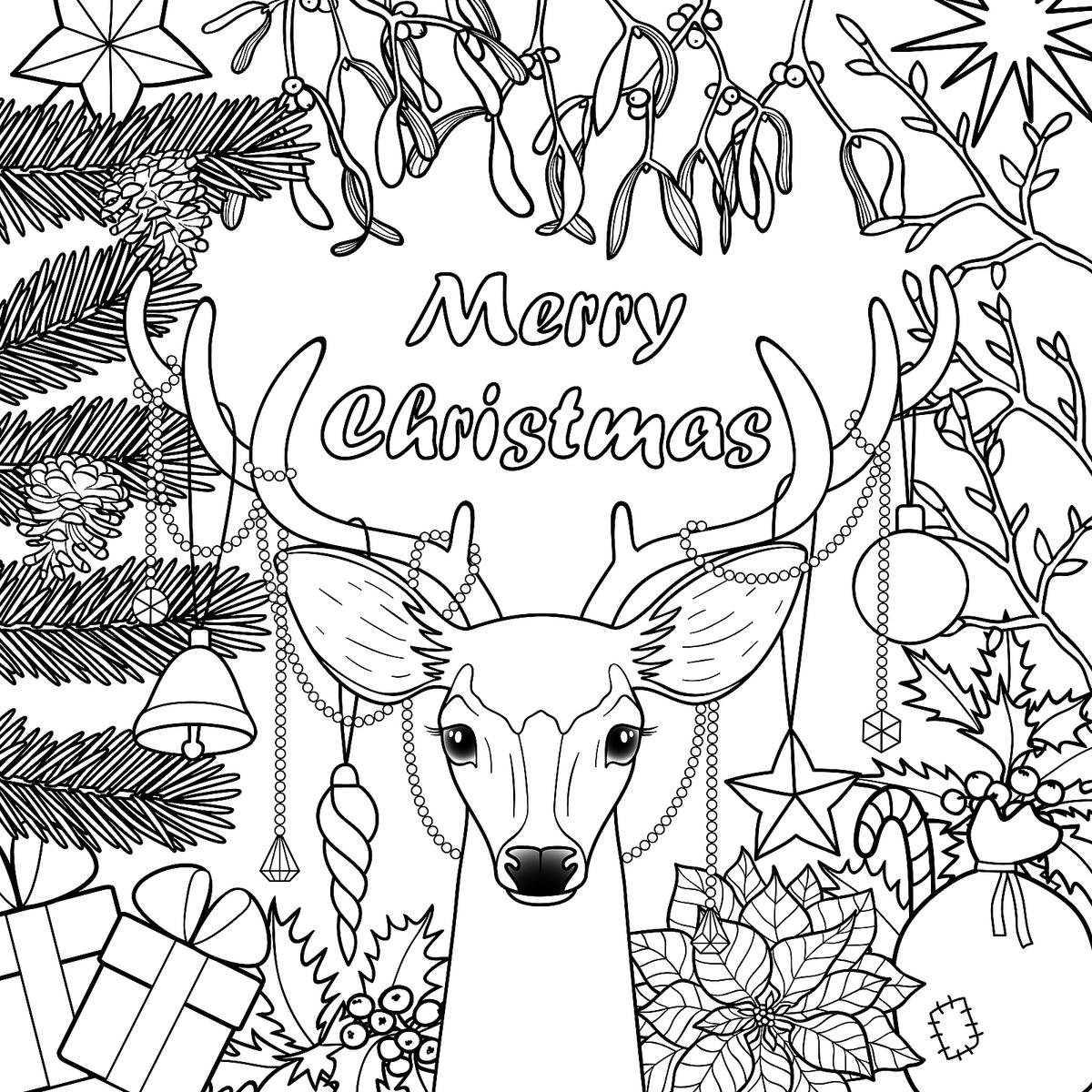 holiday coloring pages free christmas tree coloring pages for childrens printable for free free coloring pages holiday