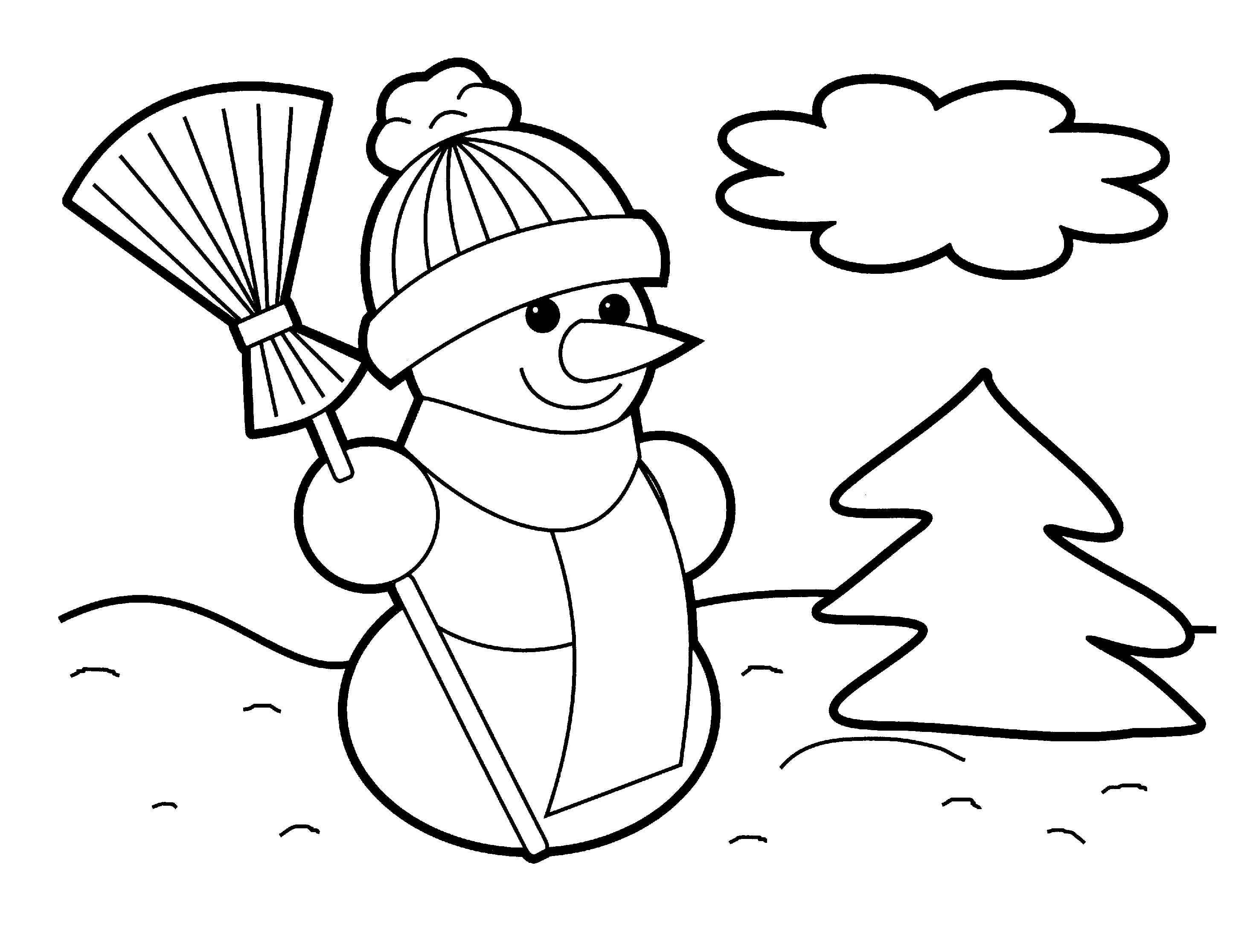 holiday coloring pages free easy preschool coloring pages holiday coloring pages free
