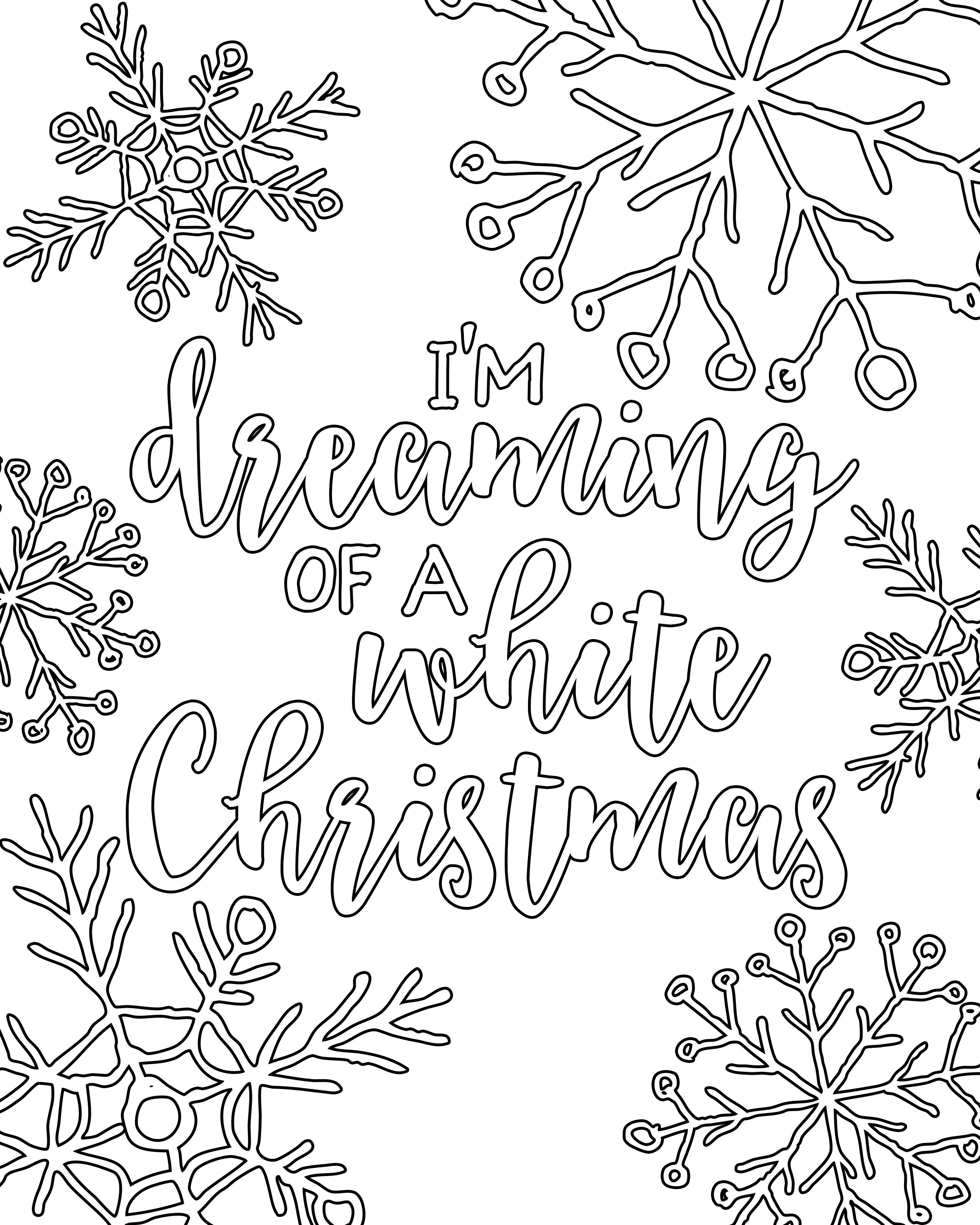 holiday coloring pages free free printable white christmas adult coloring pages our coloring holiday free pages