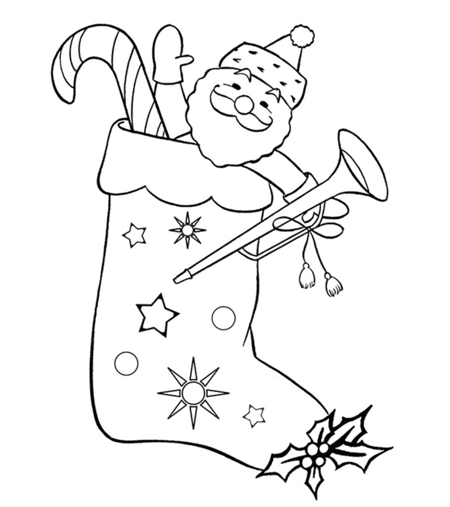 holiday coloring pages free top 25 free printable christmas stocking coloring pages online holiday coloring free pages