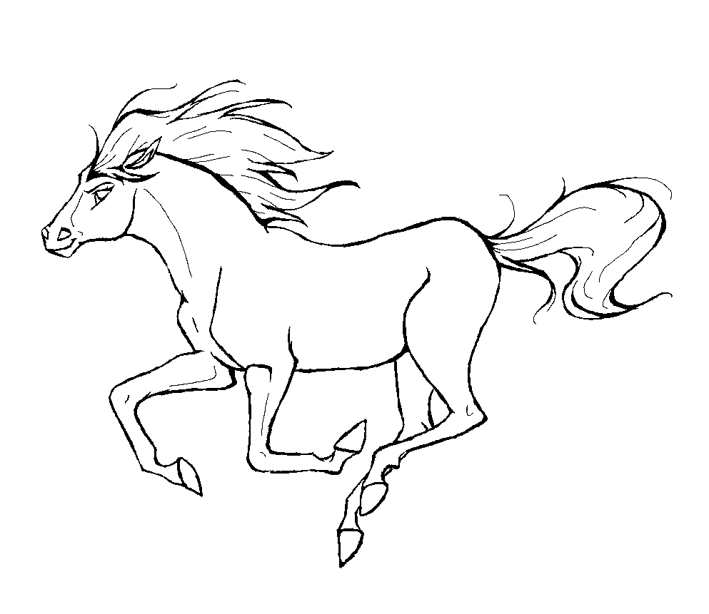 horse pictures to print out coloring page horse in motion print horse out to pictures