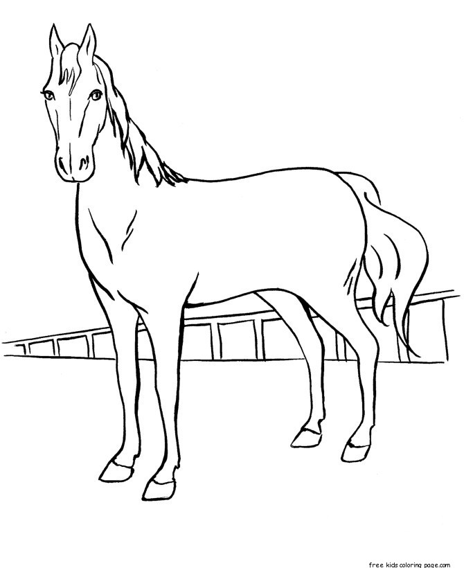 horse pictures to print out horse template animal templates free premium templates to horse print pictures out