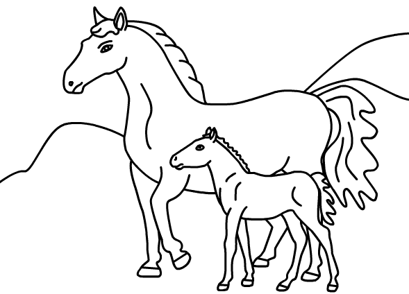 horse pictures to print out printable coloring pages coloringpaintinggamescom pictures to horse out print