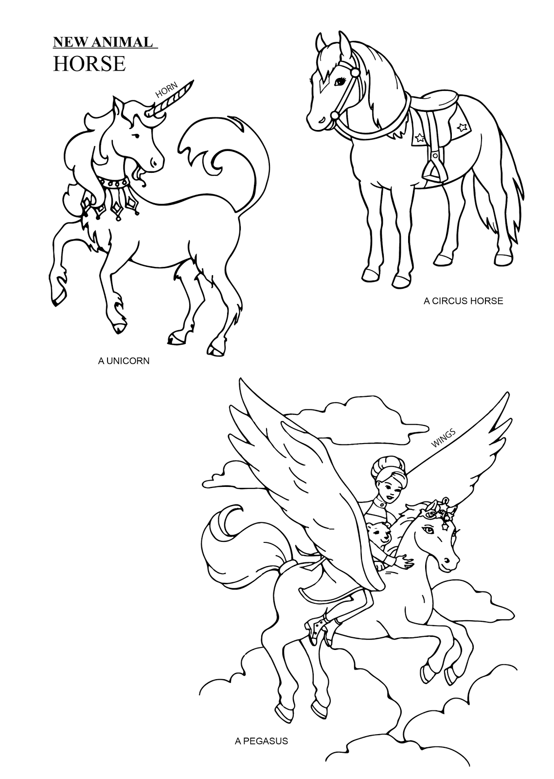 horse with wings coloring page صفحات تلوين اليونان صفحة تلوين بيغاسوس الحصان المجنح horse page coloring with wings