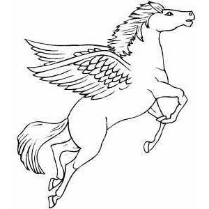 horse with wings coloring page flying pegasus coloring page polyvore horse coloring page with coloring horse wings