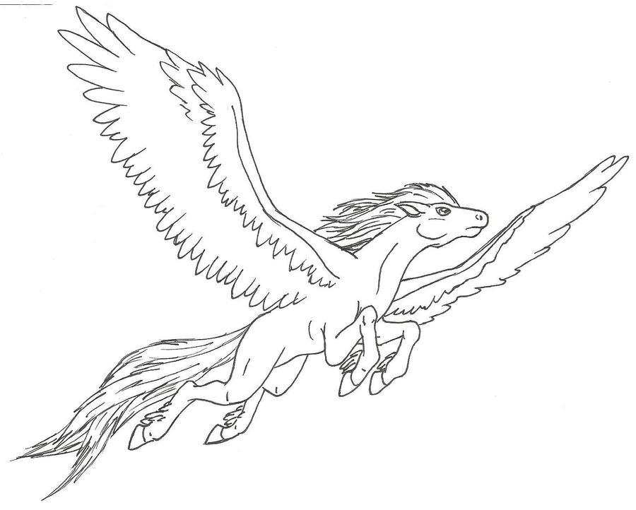 horse with wings coloring page how to draw a flying horse flying horse step by step coloring horse wings page with