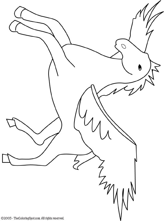 horse with wings coloring page pegasus greek mythological winged horse flying coloring coloring with page wings horse