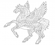 horse with wings coloring page pin on adult coloring horse wings coloring page with