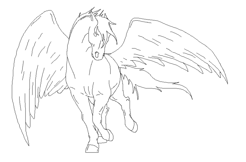 horse with wings coloring page unicorn with wings coloring page lovely unicorn with wings wings page coloring with horse