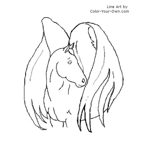 horse with wings coloring page winged horses of balinor characters horse lineart for whob horse coloring wings page with