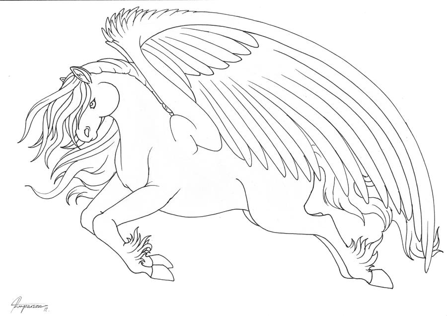 horse with wings coloring page winged horses of balinor characters horse lineart for whob wings with page horse coloring