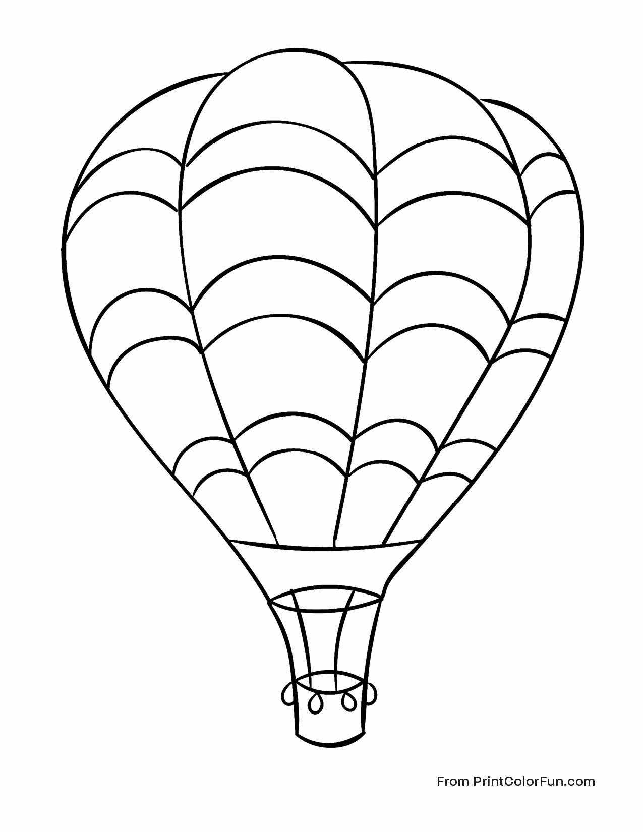 hot air balloons coloring pages hot air balloon coloring pages getcoloringpagesorg balloons hot coloring pages air