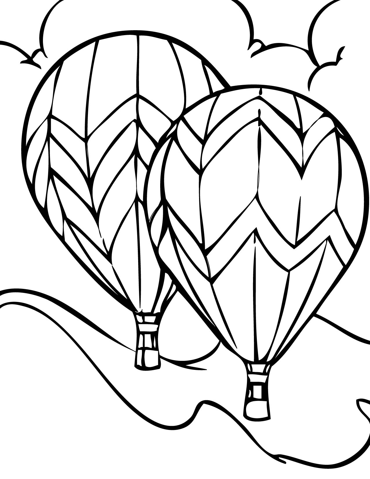 hot air balloons coloring pages printable hot air balloon coloring pages for kids cool2bkids coloring air hot balloons pages