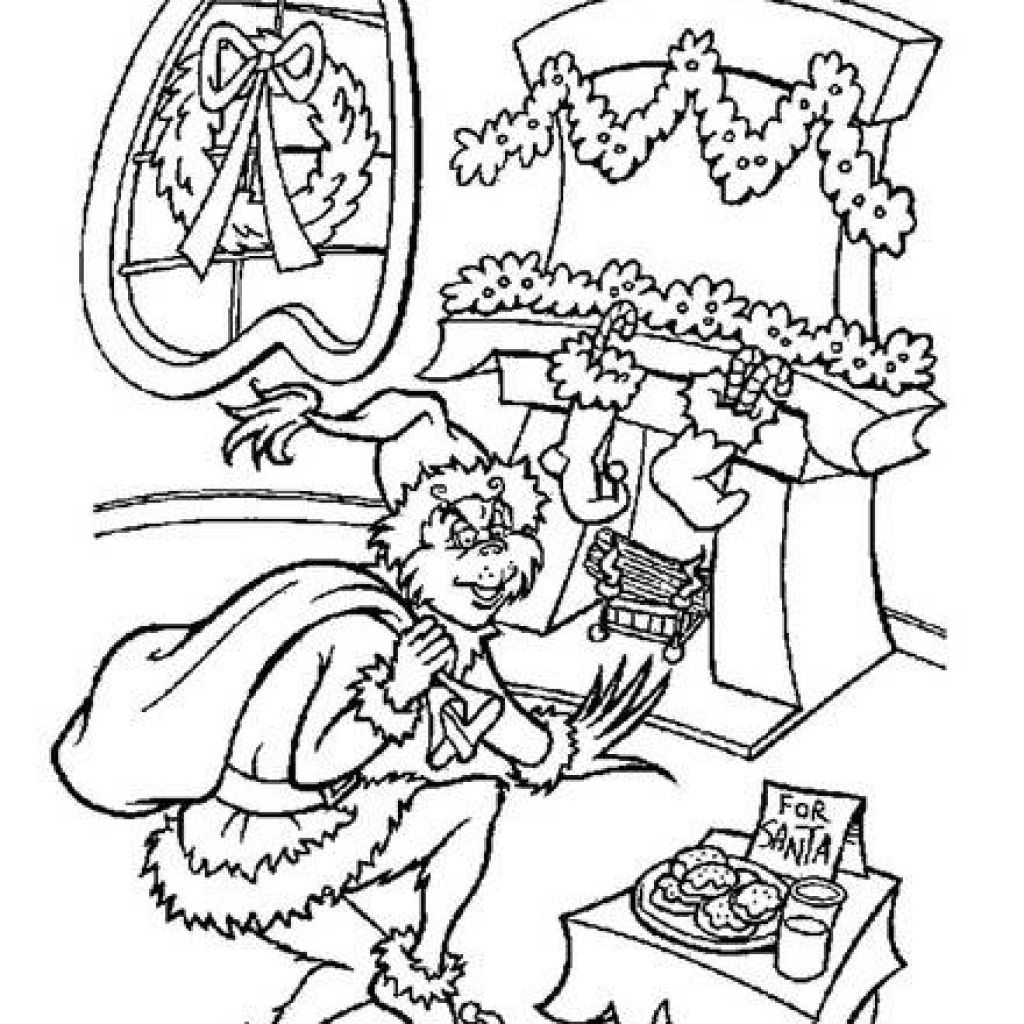 how the grinch stole christmas coloring pages the grinch coloring page coloring home pages grinch how the christmas stole coloring