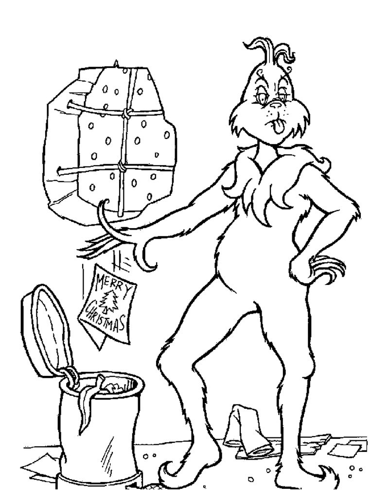 how the grinch stole christmas coloring pages the grinch throws christmas letters out coloring pages christmas pages grinch coloring stole the how