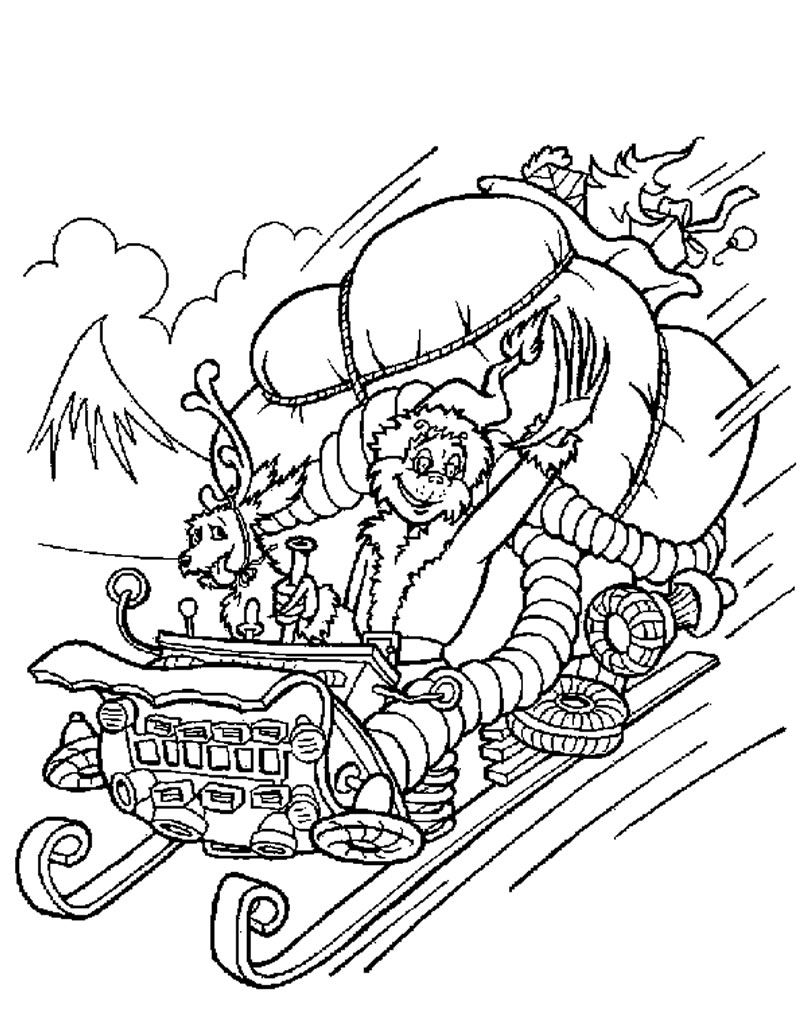how the grinch stole christmas coloring pages xmas coloring pages coloring the grinch stole pages how christmas