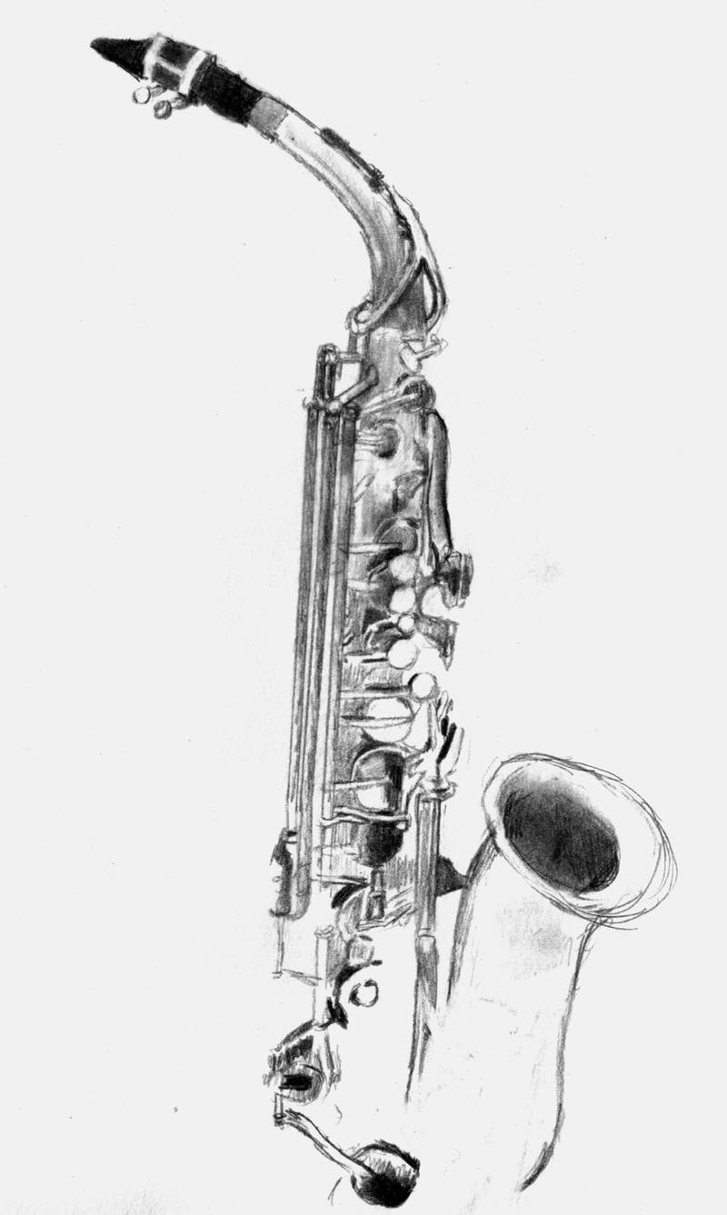 how to draw a alto saxophone how to draw a alto saxophone saxophone to draw alto how a